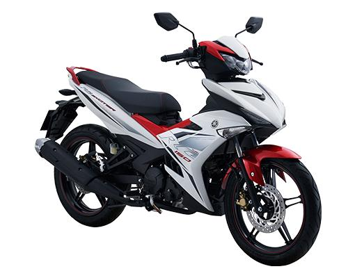 Xe Yamaha Exciter RC 2019 (Trắng) + Tặng nón bảo hiểm, áo mưa, móc khóa xe
