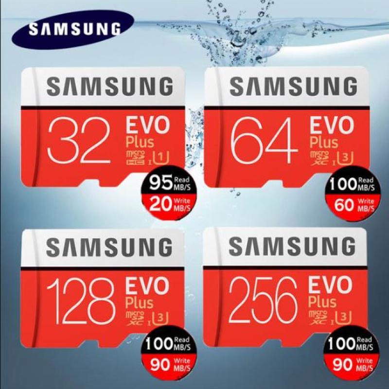 Thẻ nhớ MicroSDXC Samsung EVO Plus 100MB/s