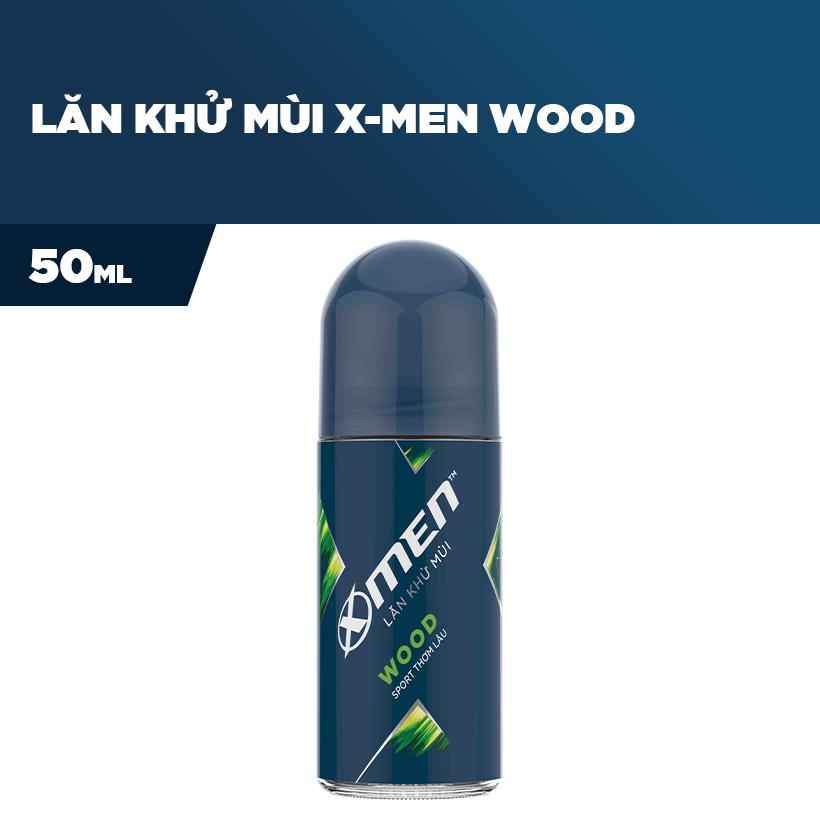 Lăn khử mùi X-men Wood 50ml
