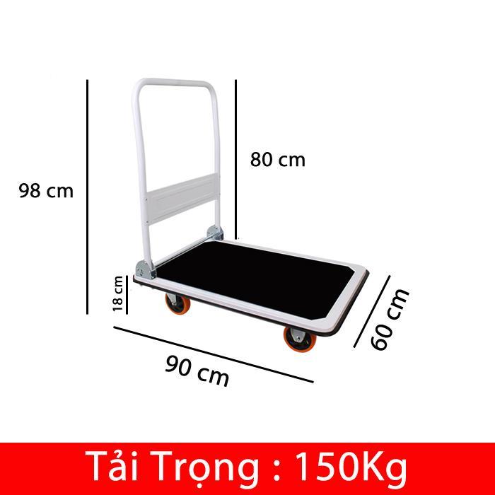 Hình ảnh Xe Đẩy Hàng TL-150 (Tải Trọng 150Kg)
