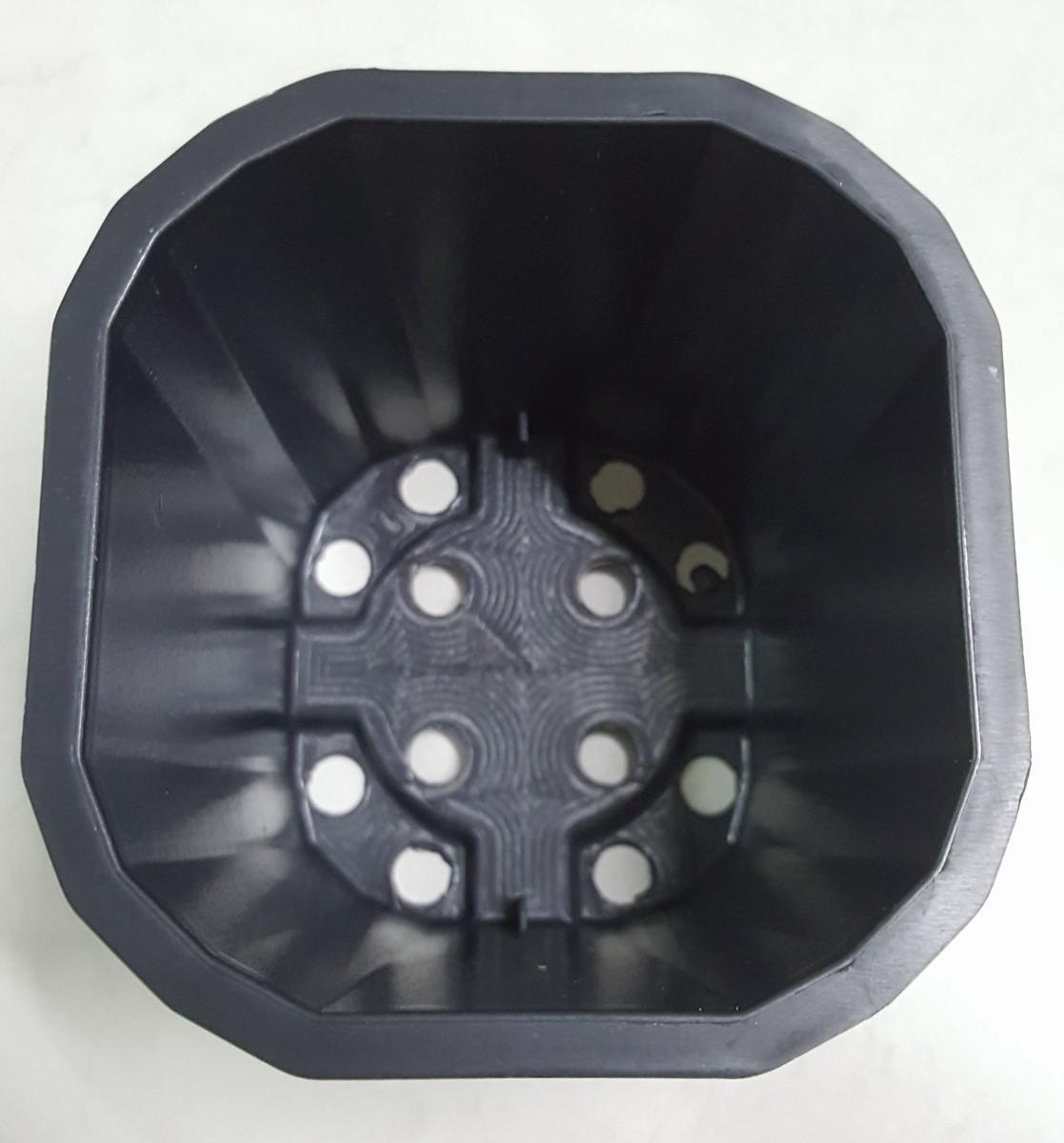 Chậu vuông 11x10 đen (Set 50 cái)