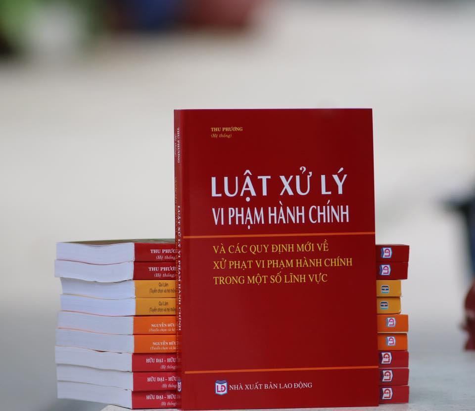 Mua Luật xử lý vi phạm hành chính và các quy định mới về xử phạt hành chính trong một số lĩnh vực