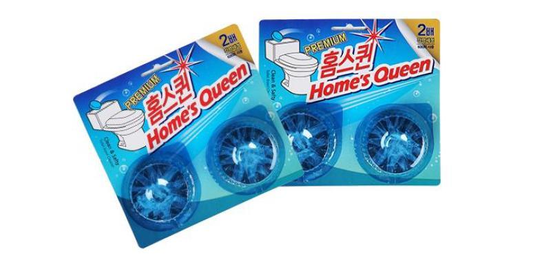 Bộ 2 vỉ Viên tẩy bồn cầu Homes Queen Hàn Quốc