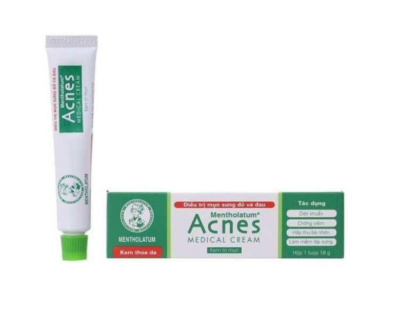 Kem trị mụn  Acnes Medical Cream 18g