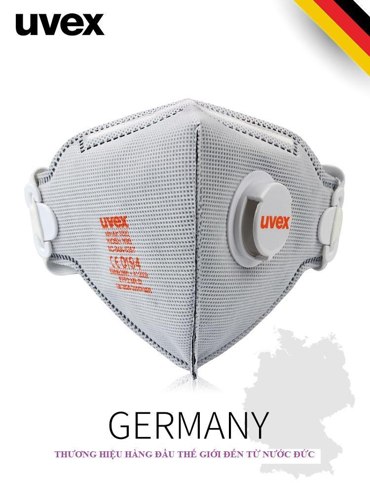 Khẩu trang chống bụi, mùi cao cấp UVEX_Thương hiệu nổi tiếng của Đức