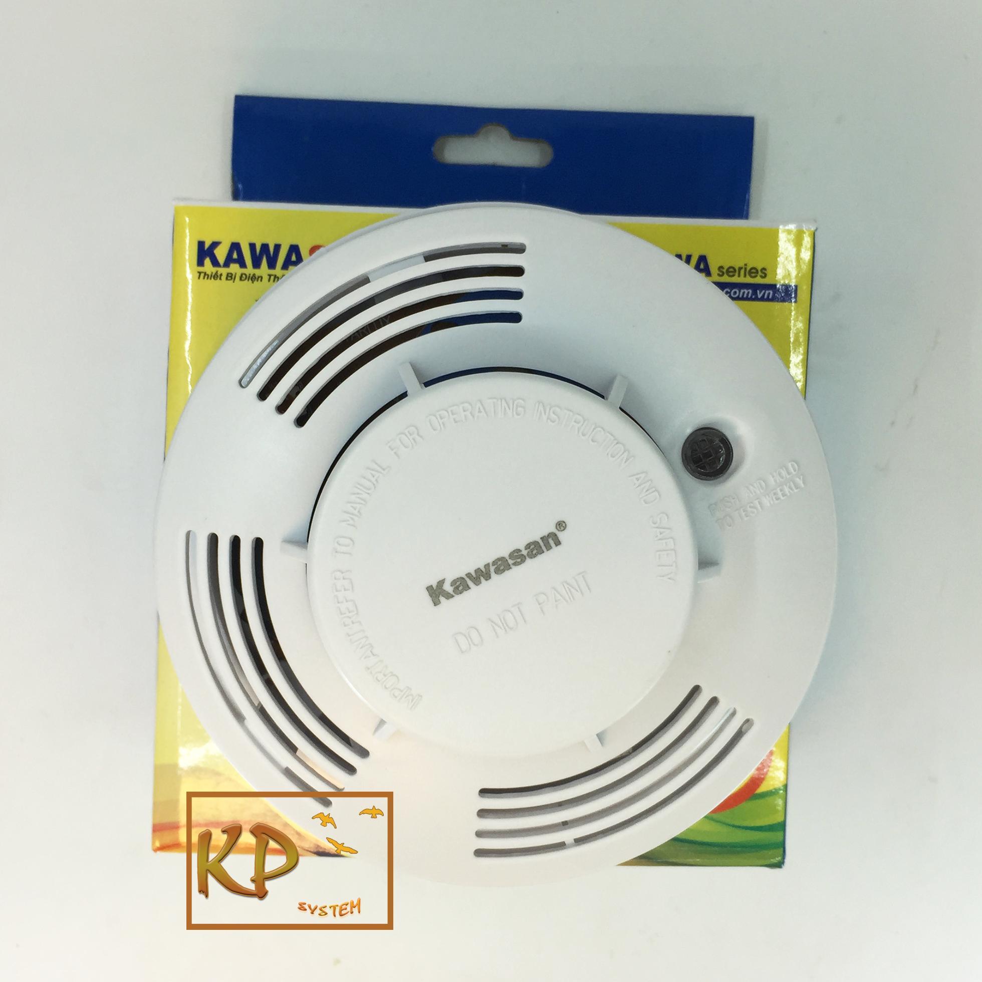 Hình ảnh Thiết bị chuông báo khói, báo cháy độc lập không dây Kawa SM07