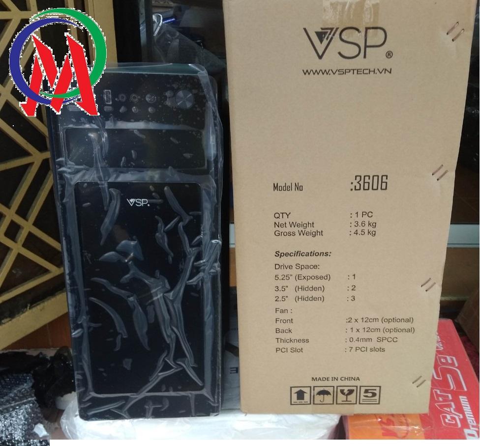 Vỏ Case Máy Tính VSP Chuyên Server và Game 3606 2 Fan
