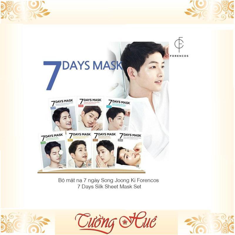 Bộ 7 Mặt Nạ Chăm Sóc Da Forencos 7 Days Mask Song Joong Ki - MÙI NGẪU NHIÊN nhập khẩu