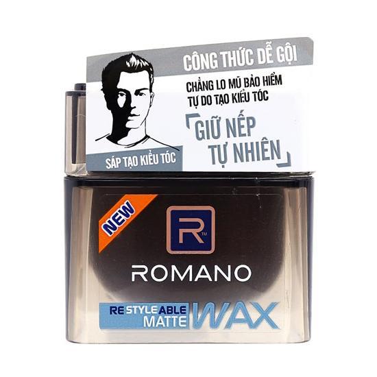 Sáp tạo kiểu tóc Romano Matte 68g chính hãng