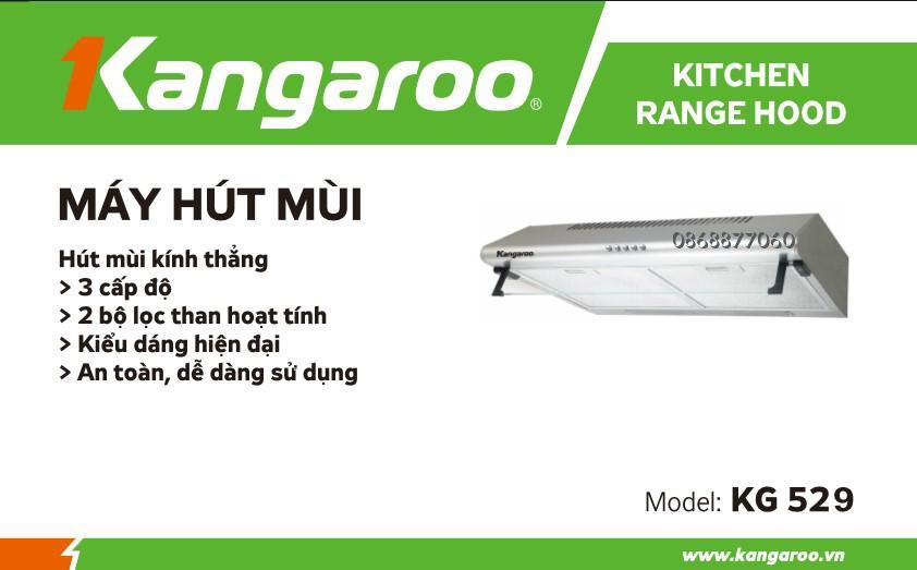 Hình ảnh Hút mùi cổ điển Kangaroo KG529