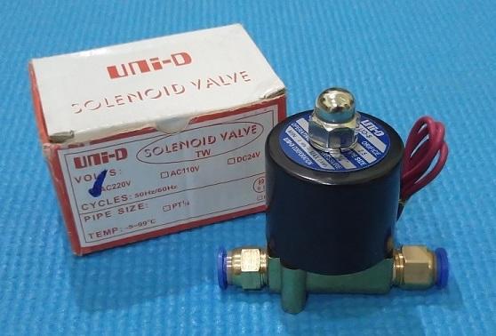 Van điện từ 8mm 220V dùng cho phun sương tự động (coil đồng)