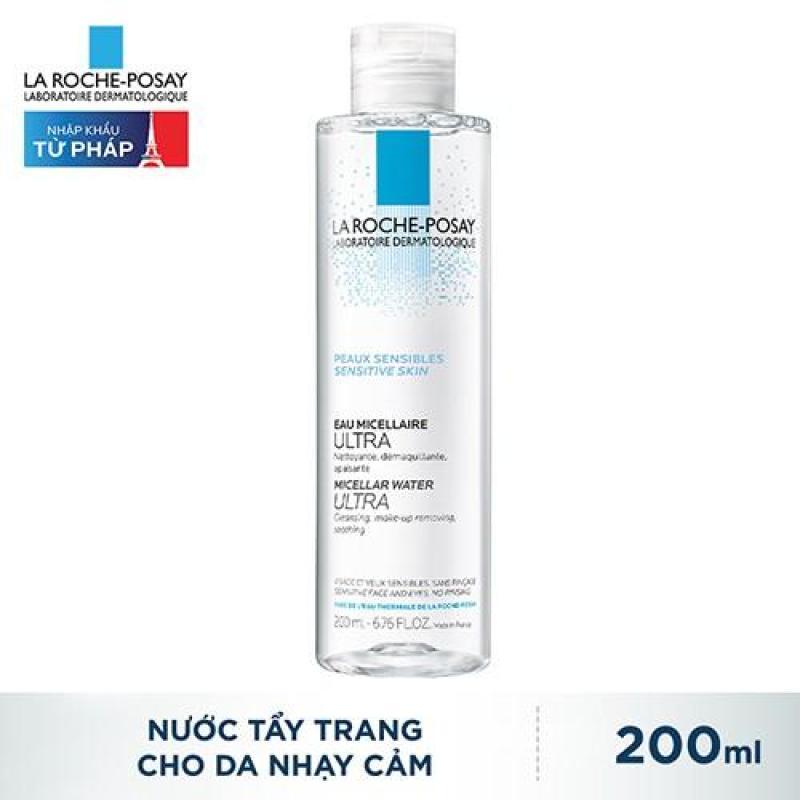 Nước làm sạch sâu và tẩy trang dành cho da nhạy cảm - Micellar Water Ultra Sensitive Skin 200ML nhập khẩu