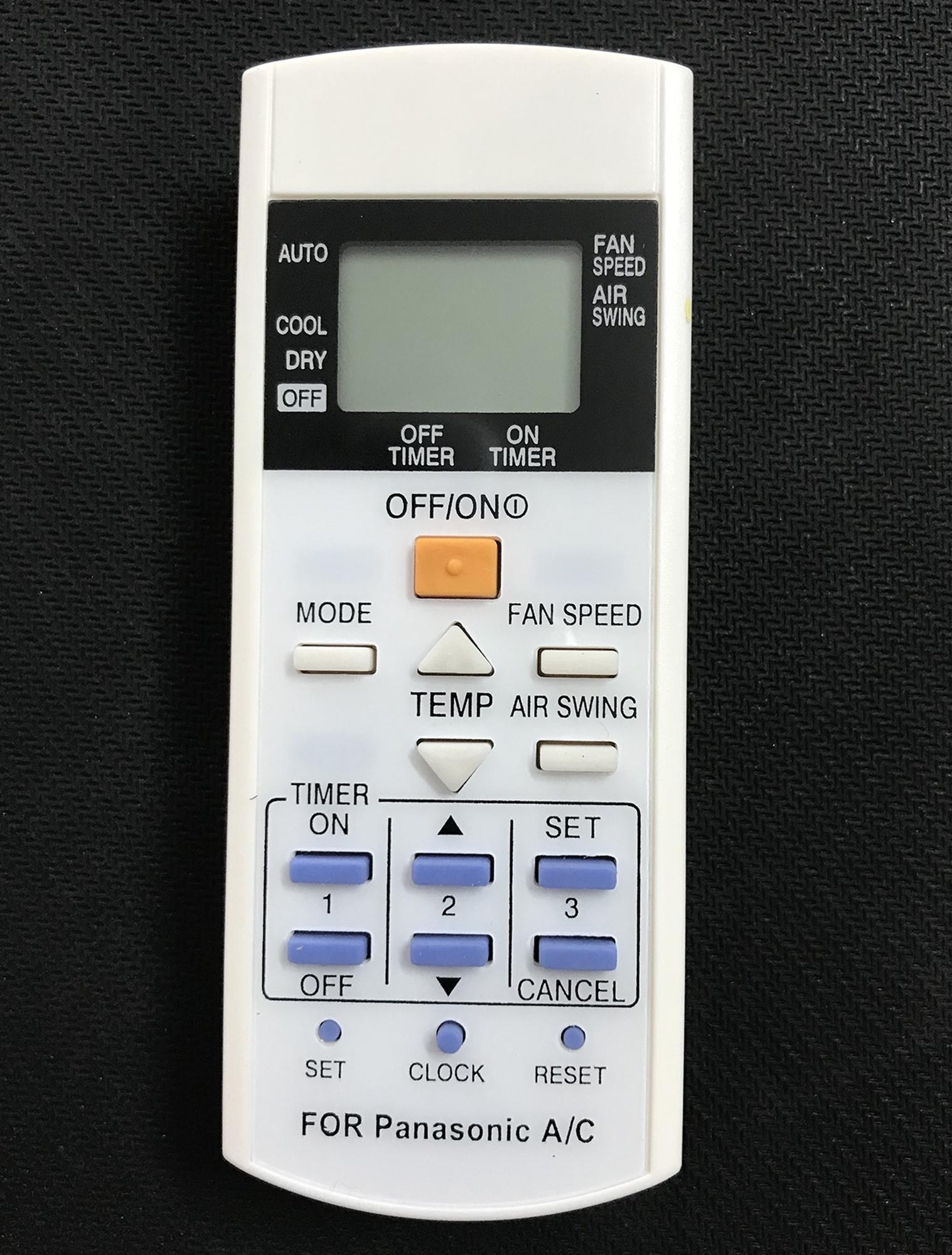 Điều khiển điều hòa panasonic CS 1Chiều (Trắng)