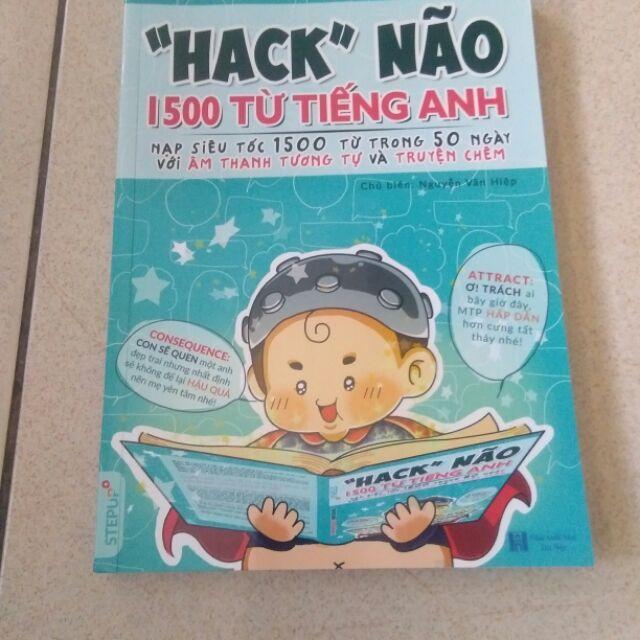 Sách - Hack não 1500 từ tiếng Anh Nhật Bản