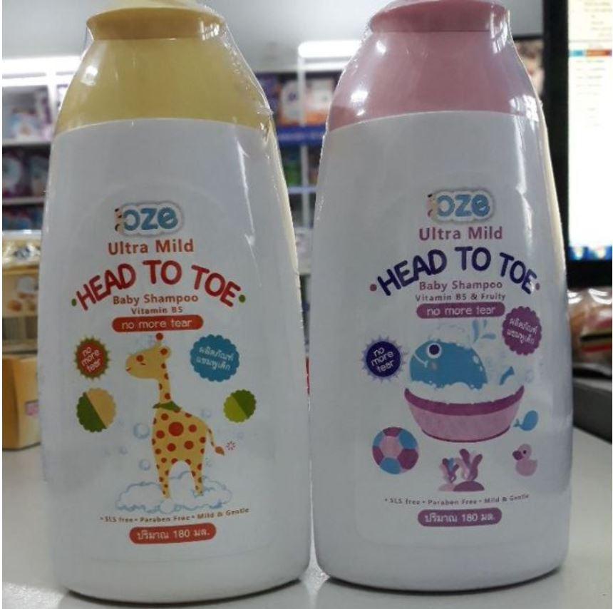 Sữa Tắm Gội Toàn Thân Cho Bé OZE