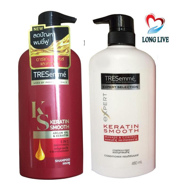 Bộ dầu gội và dầu xả chăm sóc tóc Tresemme Nhập khẩu Thái Lan giá rẻ