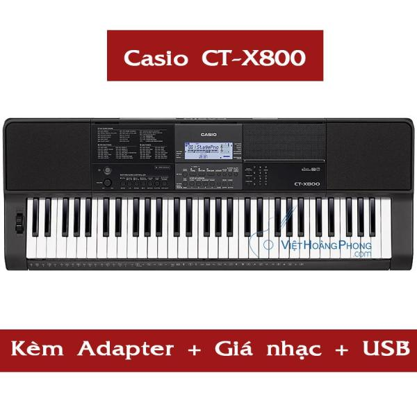 Đàn Organ Casio CT-X800 kèm USB + AD + Giá nhạc ( CTX800 )- HappyLiveShop