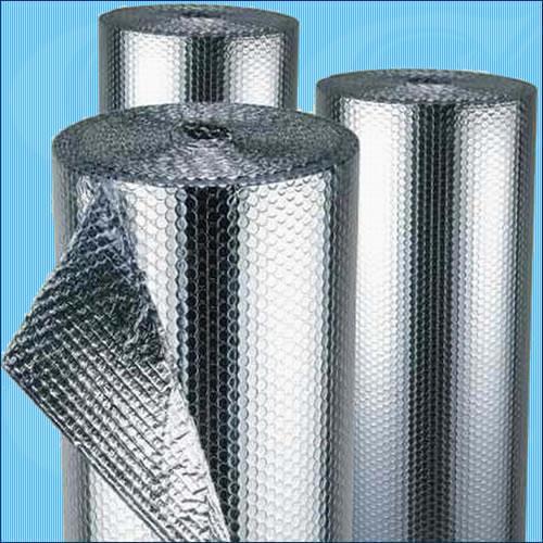Set 10m2 túi khí cách nhiệt cao cấp 2 mặt Nhôm bạc P2 (Kt 1,55 x6,5M)