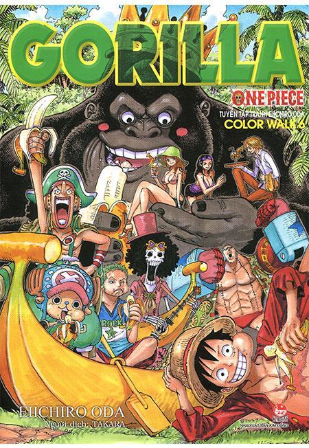 One Piece - Color Walk 6: Gorilla Siêu Khuyến Mại