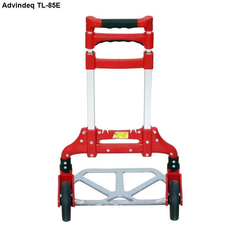 Xe đẩy hàng đa năng Advindeq TL-85E màu đỏ tải trọng chở 85kg rút gọn tiện lợi