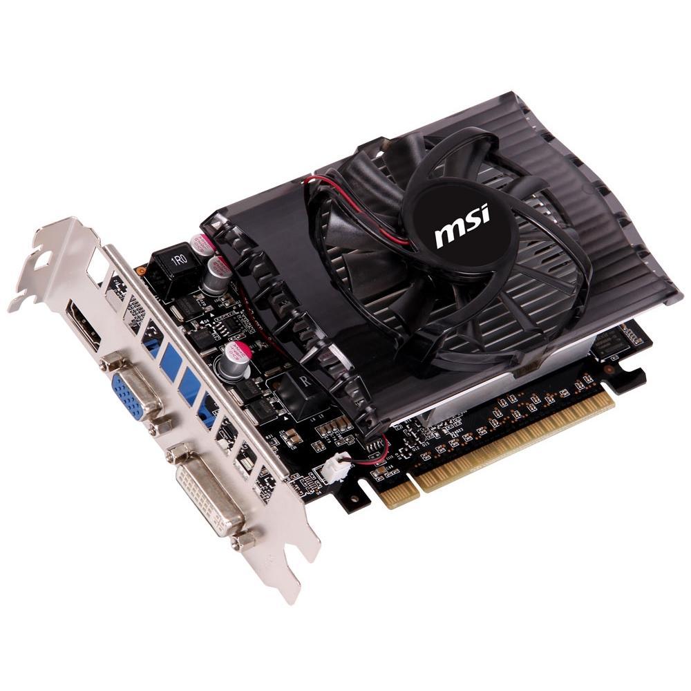 Hình ảnh VGA MSI N630-2GD3 (GEFORCE GT630/ 2GB/ DDR3/ 128BIT)