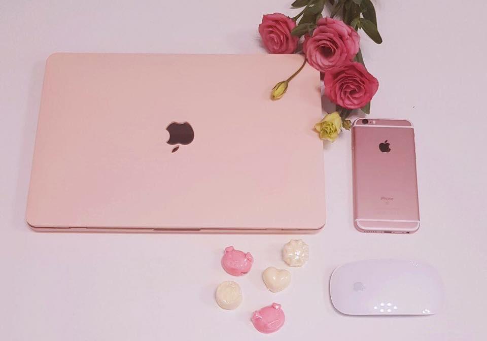 Bảng giá Ốp bảo vệ cho Macbook 12Retina - Hồng Pastel Phong Vũ