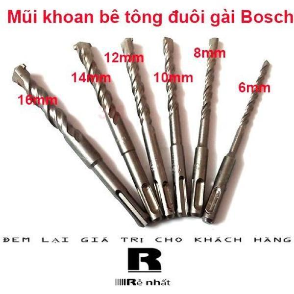 Mũi Khoan Bê Tông Đuôi Gài Bosch Loại Dài 16Cm