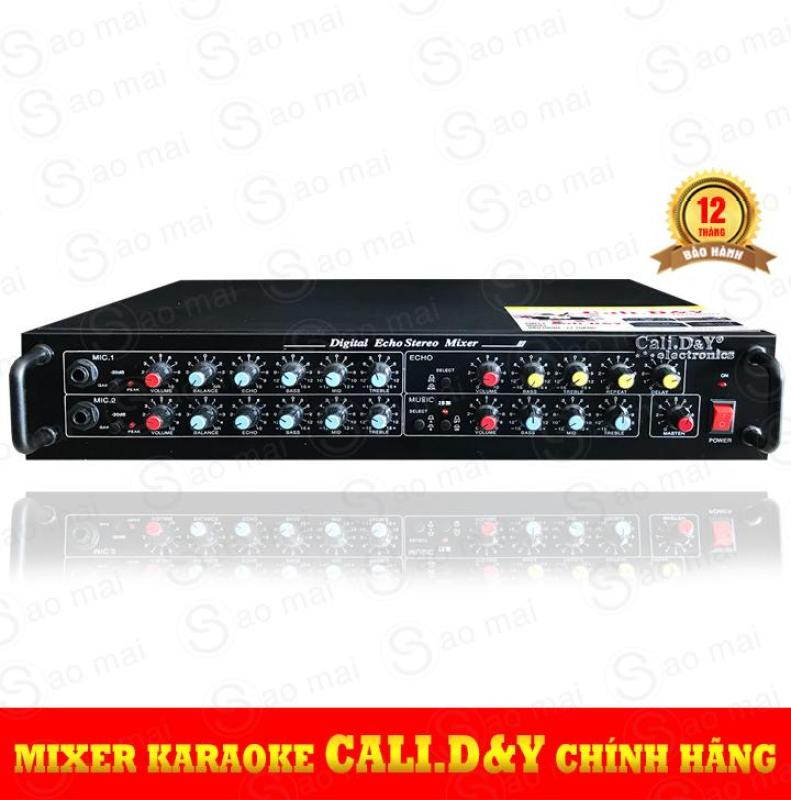 Đầu lọc tiếng, Mixer vang Karaoke Echo Cali D&Y ( đen )