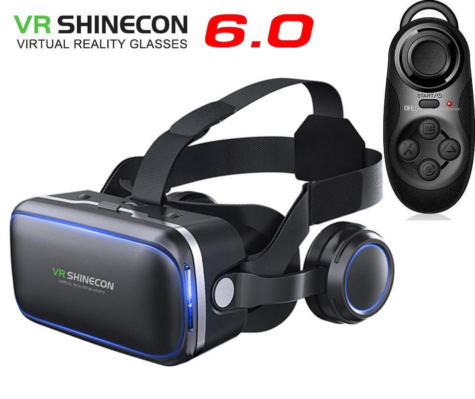 Kính thực tế ảo VR Shinecon 6.0 và tay chơi game Android Bluetooth