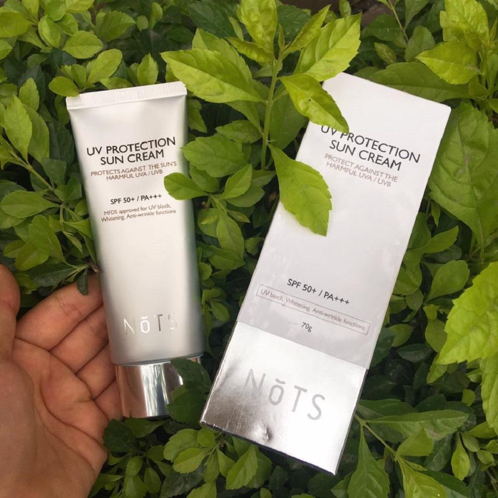 Kem chống nắng NoTS UV Protection Sun Cream SPF50+/PA+++ 70ml chính hãng