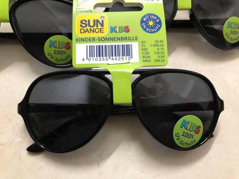 Giá bán Kính chống nắng Sundance cho bé (chống tia UV 100%)