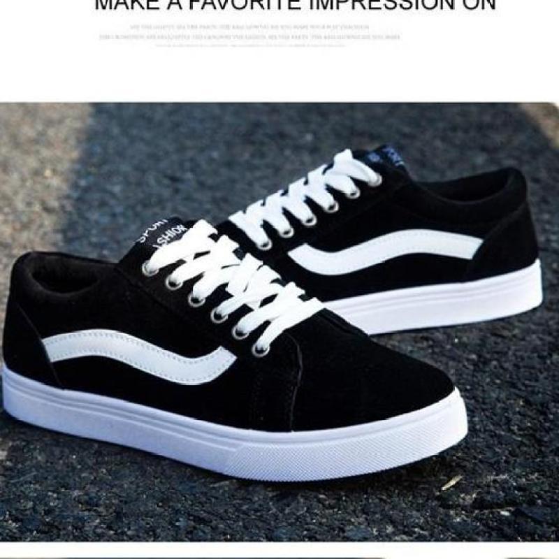 Giày Sneaker Nam Siêu Hot Mẫu Mới BAZAS S56T68B Black