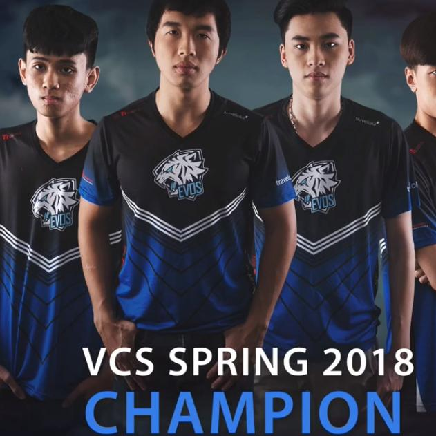 Bán Ao Thun Đội Tuyển Evos Lmht 2018 Mới Có Thương Hiệu