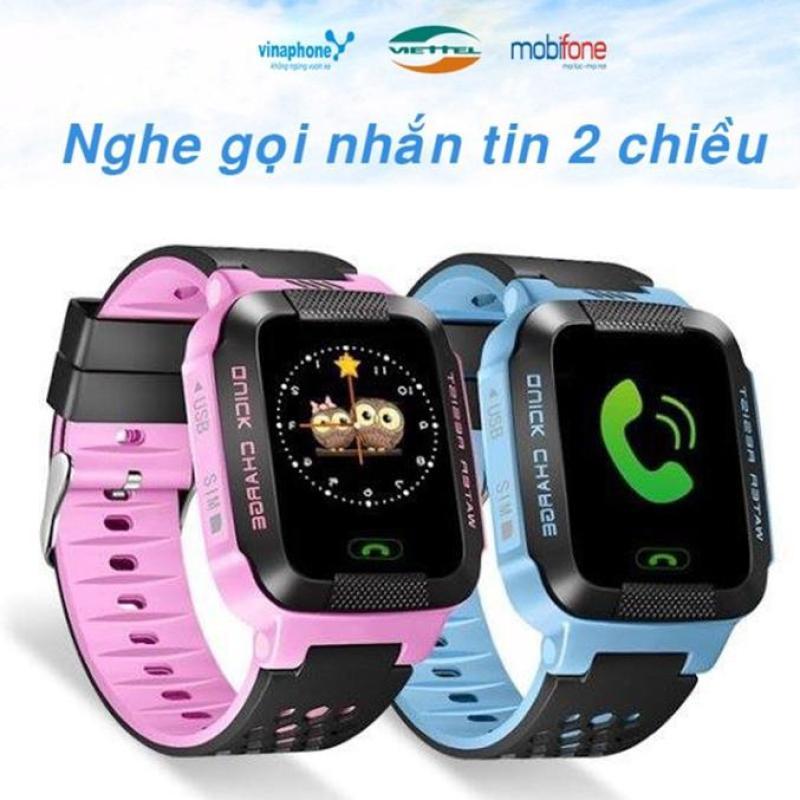 Nơi bán Đồng hồ định vị trẻ em thông minh GPS Tracker Y21G (Xanh Dương)