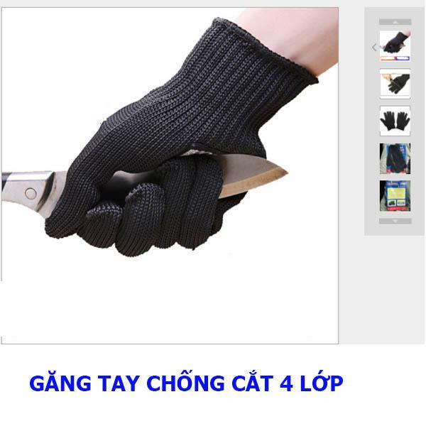 Đôi Găng tay chống cắt ngoài trời cấp độ 5