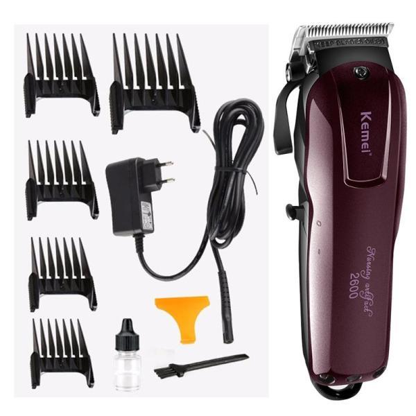Tông đơ cắt tóc chuyên dụng Kemei 2600 cao cấp