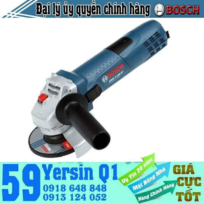 Máy mài góc Bosch GWS 7-100 ET (chỉnh tốc độ)