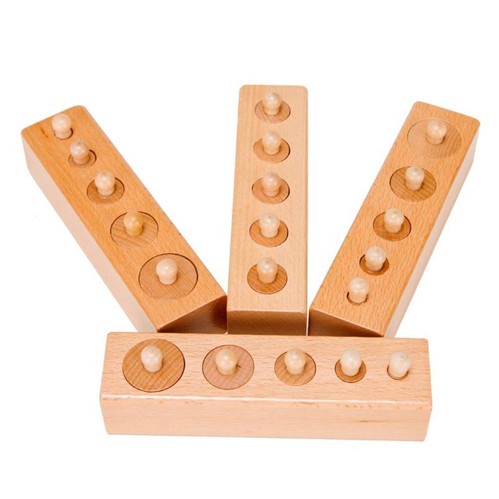Hình ảnh Bộ núm trụ Montessori