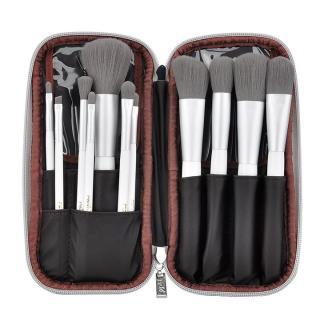 Bộ cọ trang điểm MSQ 12 cây với túi đựng MSQ 12pcs Charcoal Fibre Brushes Set thumbnail