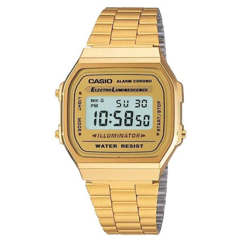 Nơi bán Đồng hồ dây kim loại Casio A168WG-9WDF  (Màu Vàng Gold)