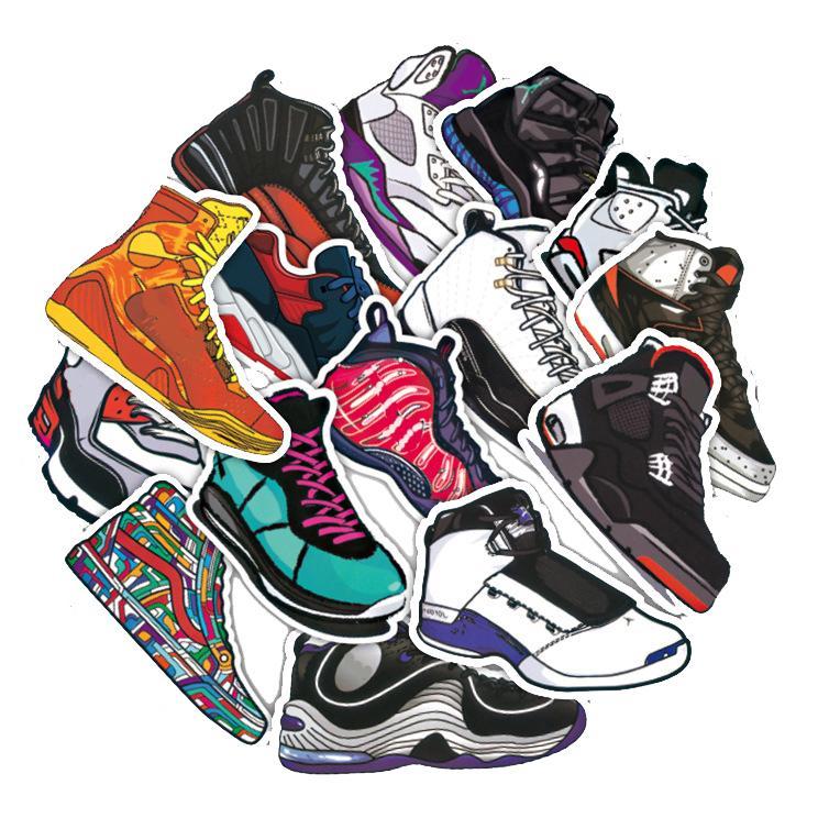 Bảng giá Bộ Sneaker Sticker trang trí Laptop Mũ bảo hiểm Phong Vũ