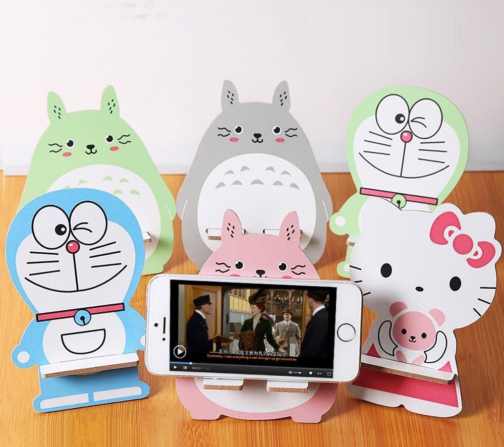 Hình ảnh COMBO 2 Giá đỡ điện thoại - Ipad hình thú cưng dễ thương - Màu ngẫu nhiên