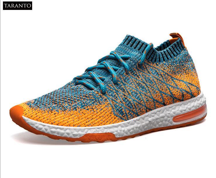 Giày Sneaker nam dệt lưới thời trang TARANTO TRT-GTTN-39