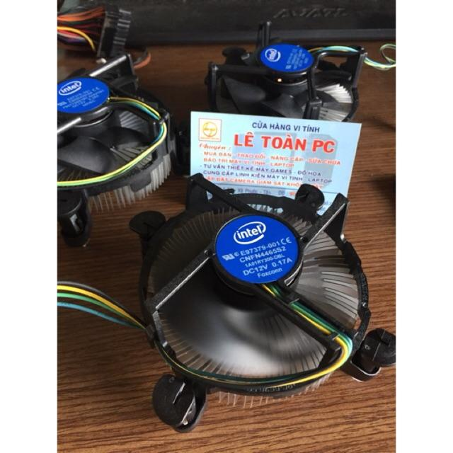 Fan Intel zin cpu sk 1151 1155 1150 1156 (đã vệ sinh sạch sẽ)