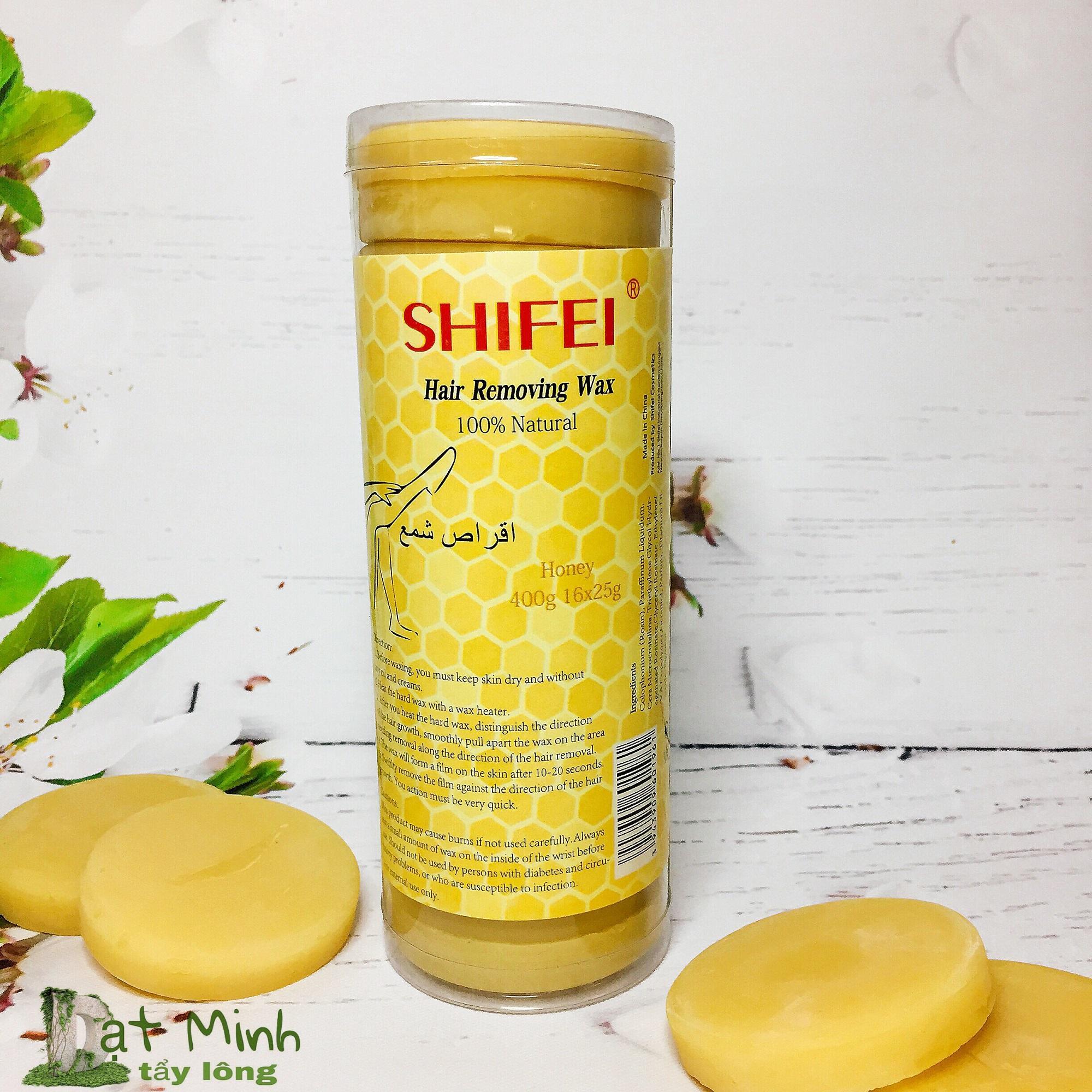 SÁP WAX NÓNG TRIỆT LÔNG VÙNG KÍN Shifei hard wax, tẩy lông tận gốc.