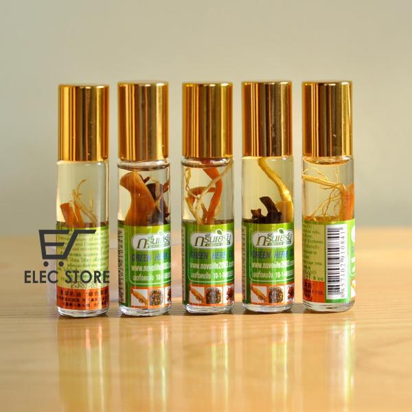 5 chai dầu sâm Thái Lan (Mỗi chai 8cc) nhập khẩu