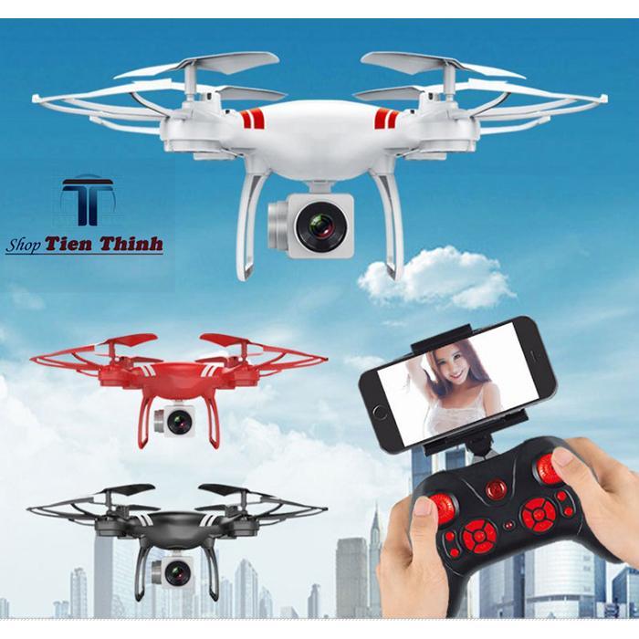 Hình ảnh mua flycam giá rẻ, camera flycam, may bay dieu khien - Máy bay Flycam KY101 cao cấp, kết nối Wifi với điện thoại, Bảo Hành uy tín 1 Đổi 1