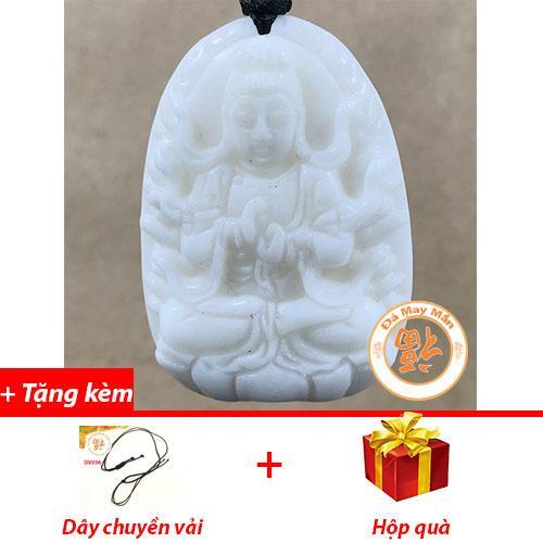 Mặt Dây Chuyền Phật Bản Mệnh Như Lai Đại Phật Vỏ Sò Hóa Thạch