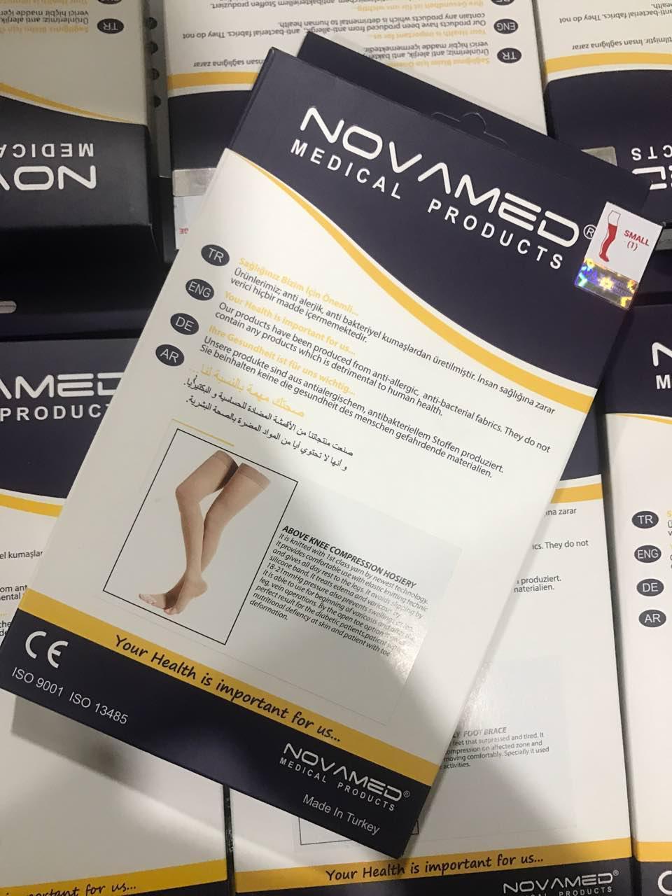 Vớ y khoa Vớ suy giãn tĩnh mạch bắp chân NOVAMED Thổ Nhĩ Kì 2 chiếc (Nhân viên gọi tư vấn Size)