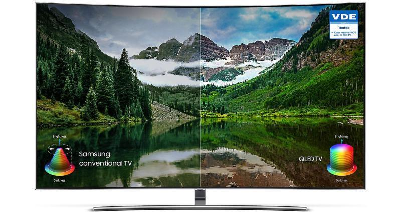 Bảng giá Smart TV màn hình cong Samsung 4K QLED 65 inch 65Q8CNA